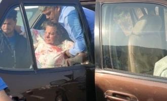National award winner actress Shabana Azmi car accident