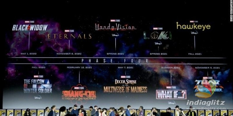 Whoa! Marvel announces their next 10 Superhero films, cast and release dates
