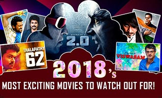 2018's most exciting movies to watch out for!
