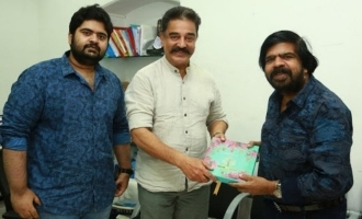 T.Rajendhar invites Kamal Haasan