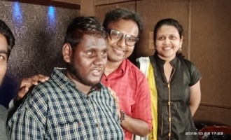 Lyricist Parvathy shares about singer Thirumoorthy's debut movie song