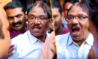 Bharathiraja and Seeman fight for Ilayaraja - Video