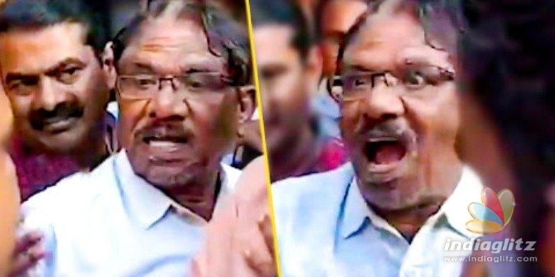 Bharathiraja and Seeman fight for Ilayaraja - Video