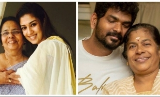 Vignesh Shivan gives fitting reply to troll about Nayanthara's mother