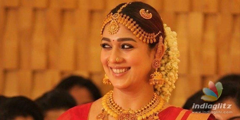 Nayantharas stunning bridal dress photos go viral