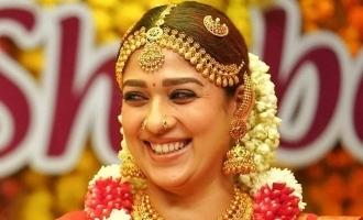 Nayanthara's stunning bridal dress photos go viral