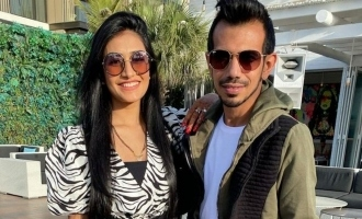 Yuzvendra Chahal's wife Dhanashree reacts to his exclusion from T20 World Cup squad