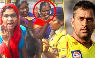Marana Clash Between Girls For IPL  CSK vs RCB match tickets
