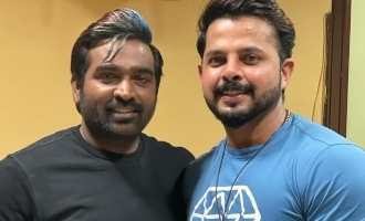 Is Vijay Sethupathi sharing screen space with cricketer Sreesanth? - Exclusive