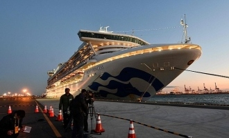 Two Indians test positive for coronavirus on quarantined ship