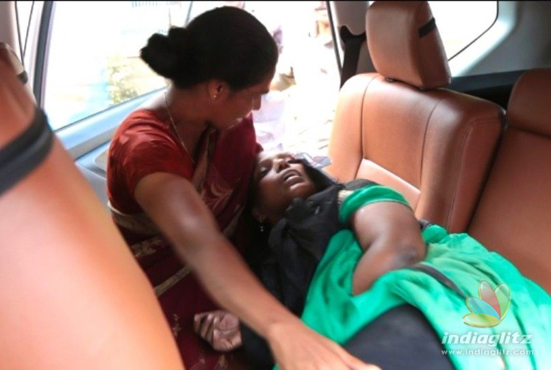 Kamal Haasans timely help for a woman injured in an accident