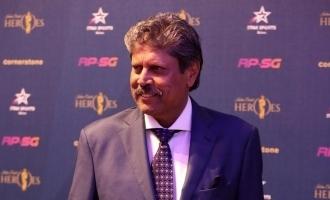 Legendary Indian cricketer Kapil Dev suffers heart attack!