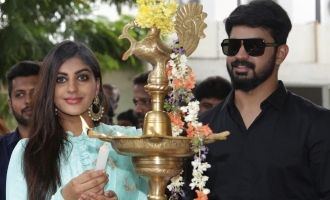 Mahat and Yaashika's New Movie Pooja