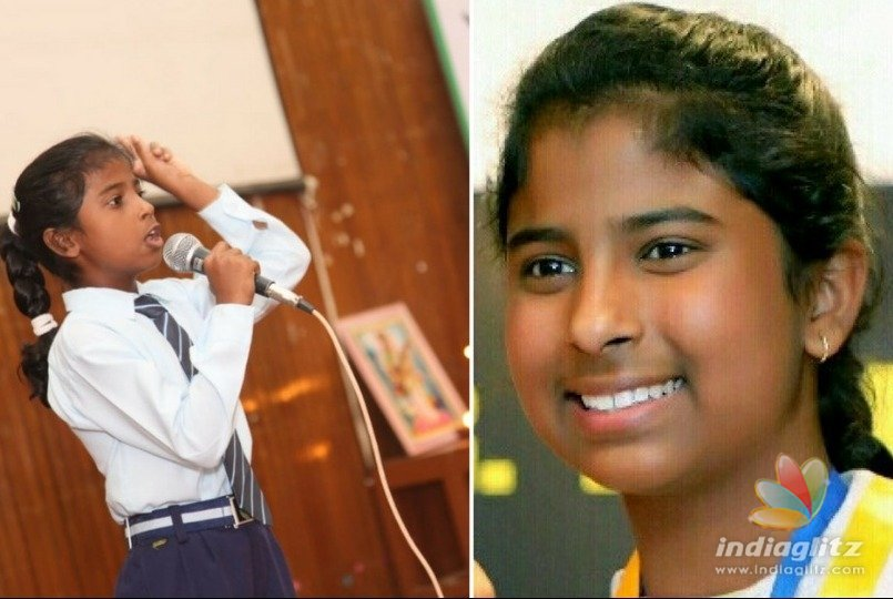 The 14 year old girl who gives motivational speeches to IAS officers