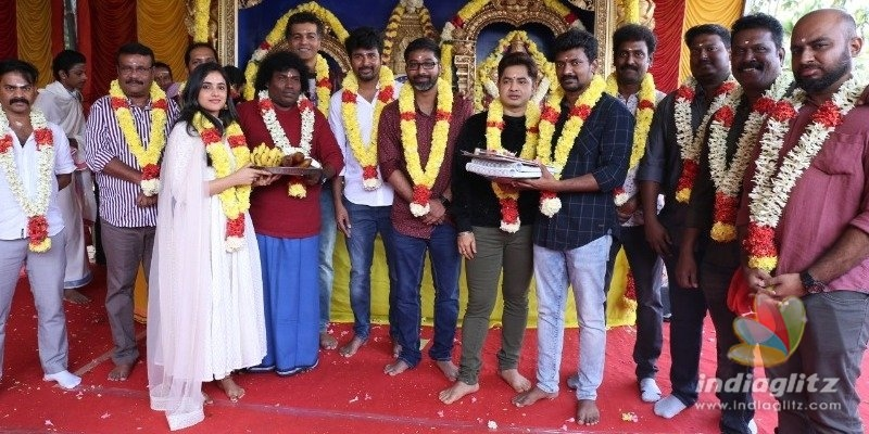Sivakarthikeyans new movie goes on floors