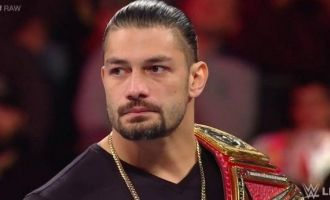 Roman Reigns suffering from blood cancer - emotional speech video
