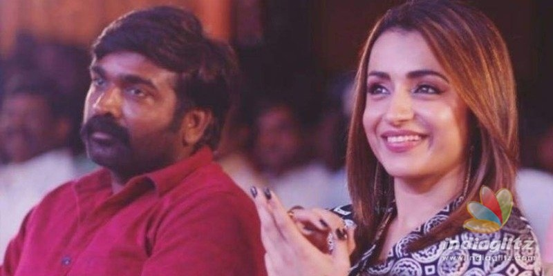Vijay Sethupathi - Trishas special Valentines Day treat for fans first time in India