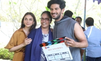 'Hey Sinamika' Movie Pooja