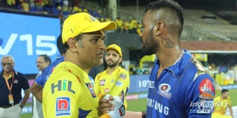 Mumbai Indians players admiration message about M.S.Dhoni goes viral