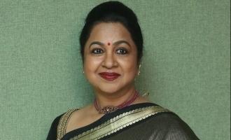 Radhika Sarathkumar angry tweet about fake social account