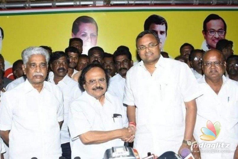 After lashing Karthi Chidambaram, Congress minister strikes peace!
