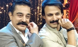 Vivek Oberoi's sharp remark on Kamal Haasan!