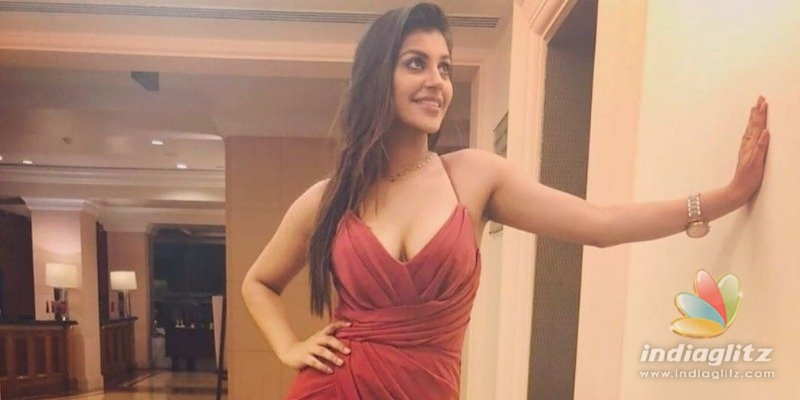 Yashikaa Annand goes red hot after birthday celeb