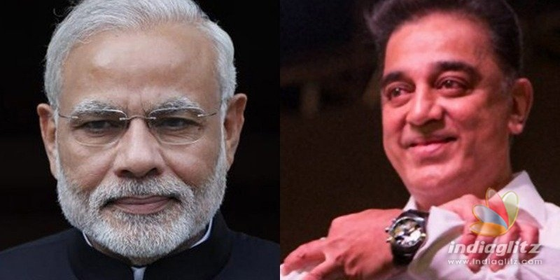 Kamal Haasan gives idea to Prime Minister Modi to get best publicity