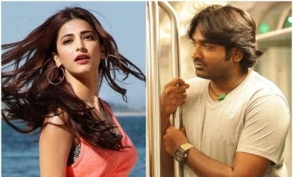 Vijay Sethupathi and Shruti Haasan begin next!