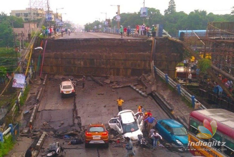 Many feared dead as flyover collapses