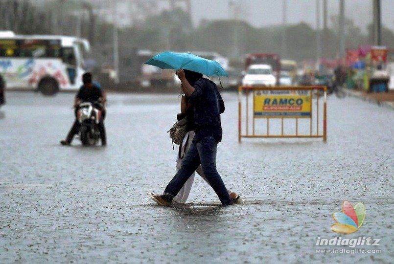 Thunderous rainfall for Chennai tonight
