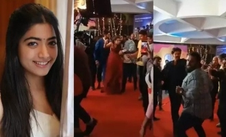 Was Rashmika Mandanna kissed by fan in public?