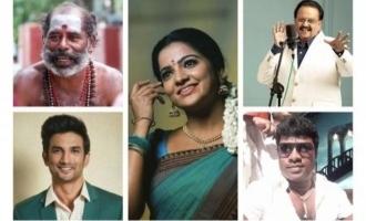 Rewind 2020 Tamil Celebrities Death