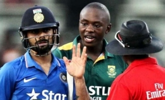 Kohli responds to Rabada's 'immature' remark on him