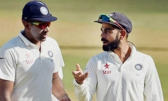 kohli talked to ashwin in tamil for his beautiful spell in india vs england second test