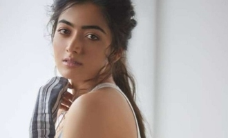 Rashmika Mandanna abused by hero in song video causes controversy