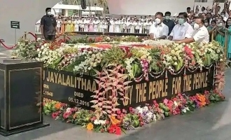 Jayalalithaa memorial opened in Chennai