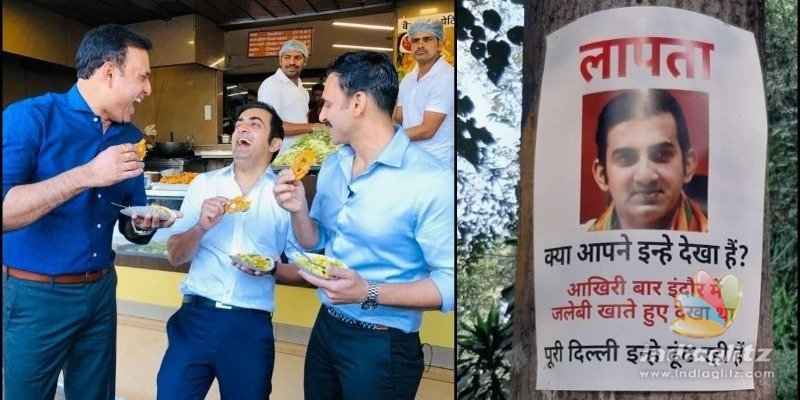 Will stop eating jalebis: Gautam Gambhirs outburst