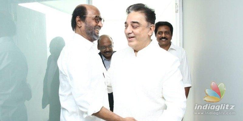 Kamal reveals secret agreement with Rajini
