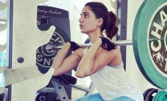 Samantha hits the gym after being inspired by an Olympic champion!