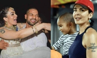 Indian cricketer Shikhar Dhawan's wife Ayesha announces divorce after 8 years of marriage