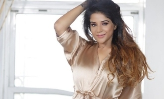 Sakshi Agarwal in bathrobe shows off her new thigh tattoo