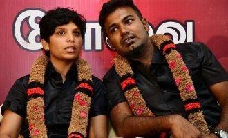 Shocking complaint about Gausalyta husband Sakthi