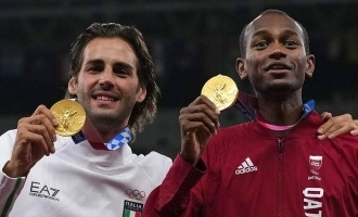 Tokyo Olympics: Two athletes decided to share the gold medal. A rare gesture happening after 109 years!