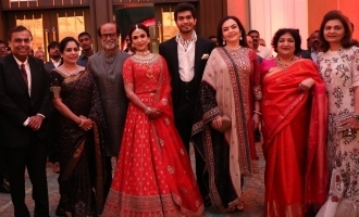 Celebs at Vishagan - Soundarya Wedding Reception