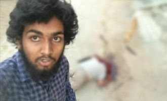 Man brutally murders uncle, takes selfie with dead body