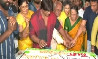 Popular actor receives notice for strange birthday celebration!