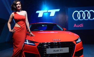 Akshara Haasan at Audi TT Coupe launch