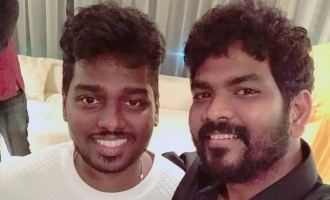 Atlee surprises Vignesh Shivan from  'Thalapathy 63' shoot