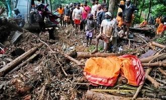 கேரளா-இடுக்கியில் ஏற்பட்ட நிலச்சரிவு!!! இதுவரை 55 தமிழர்கள் உயிரிழந்ததாக அதிர்ச்சி தகவல்!!!